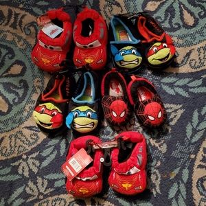 5 pairs boys slippers Reseller boxes